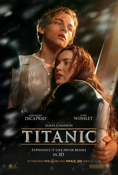 """Top 10 Reasons Why I Won't See """"Titanic"""" in 3-D (1/3)"""